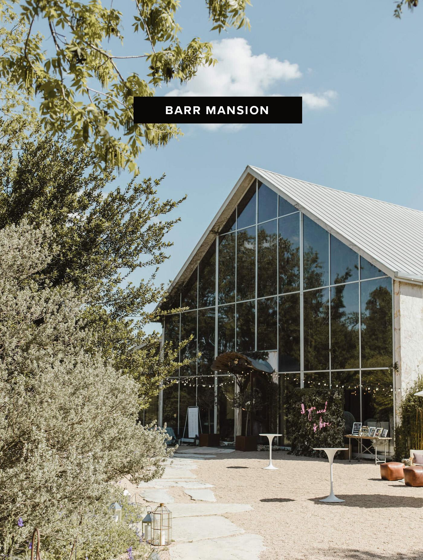 barr mansion wedding venue