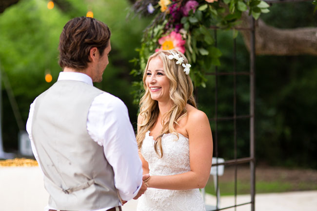 Lisa junkin wedding