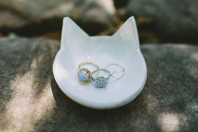 cat ring dish