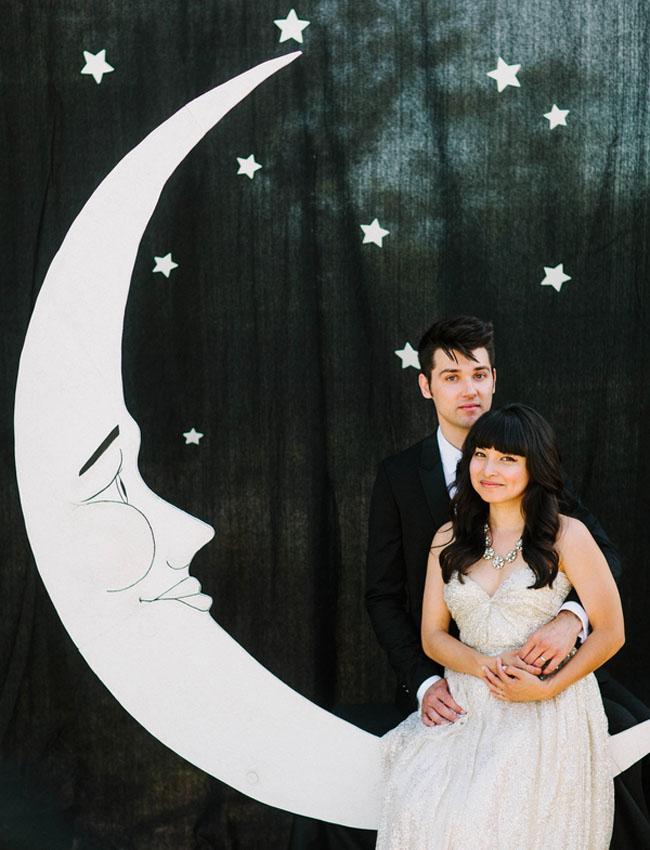 moon photo backdrop