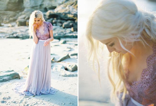 Emily Rose Riggs purple dress