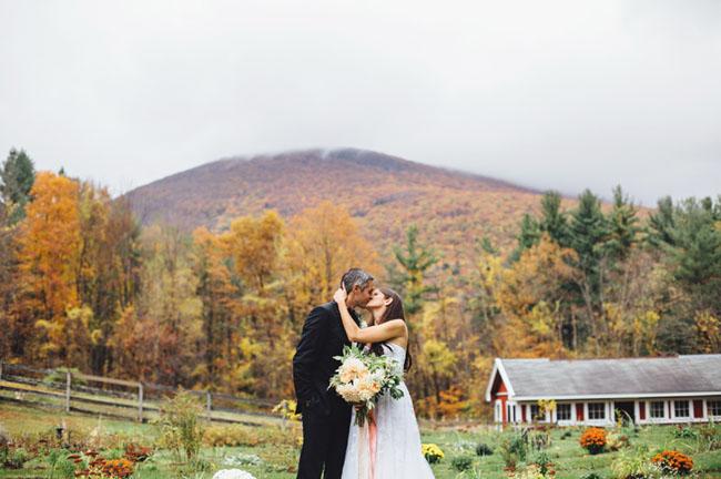 Fall Vermont Wedding
