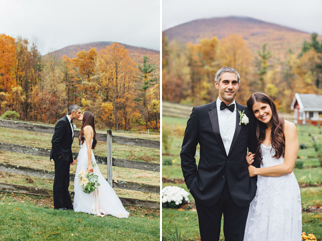 Fall Vermont Wedding
