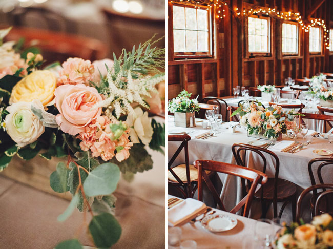 Fall barn reception