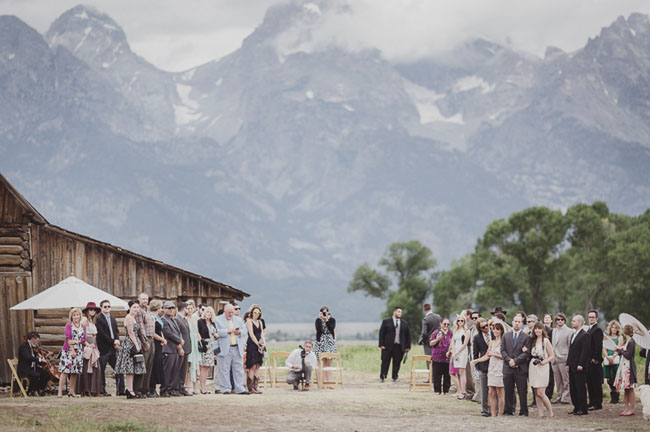 Grand Tetons wedding