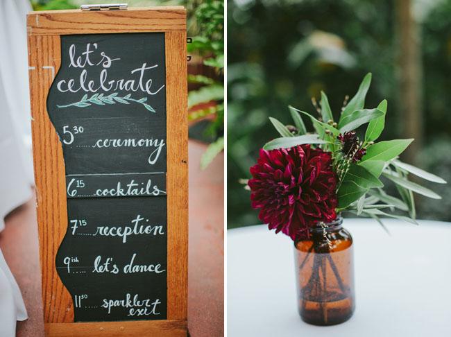 wedding timeline