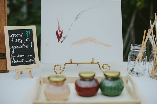 painting guest book