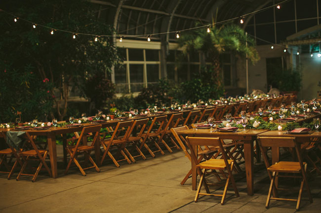 Chicago Greenhouse Wedding