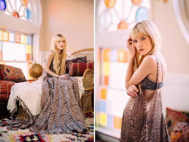 boho gypsy dress