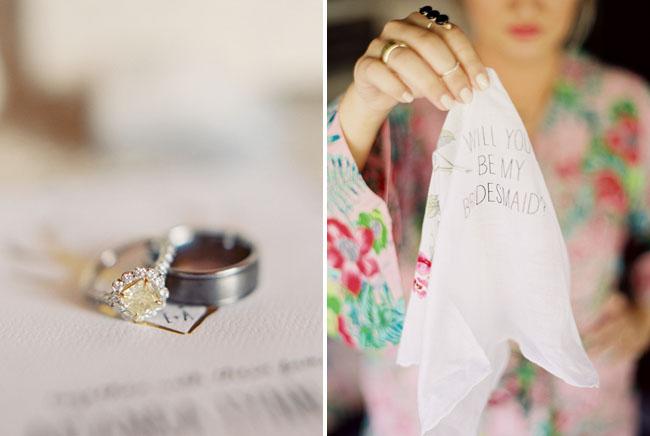 bridesmaid handkerchief