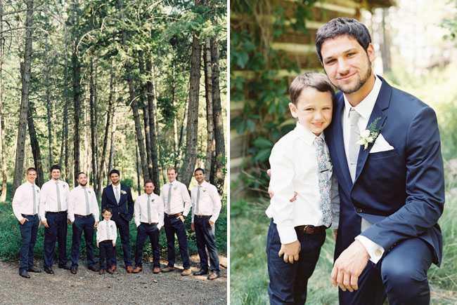 woodsy groomsmen