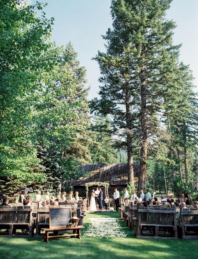 Woodsy Boho Wedding