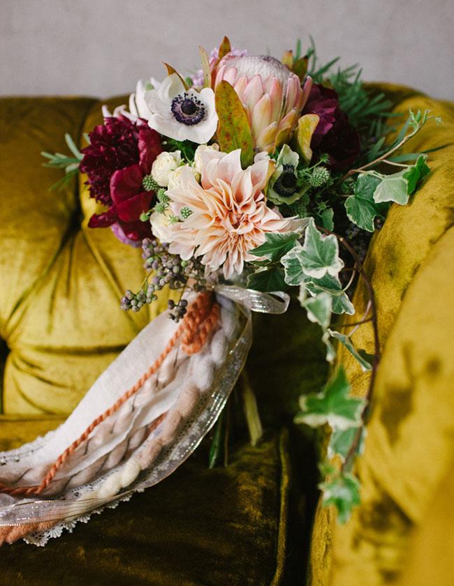 kinfolk inspired bouquet