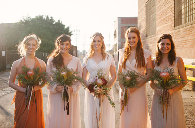 kinfolk bridesmaids
