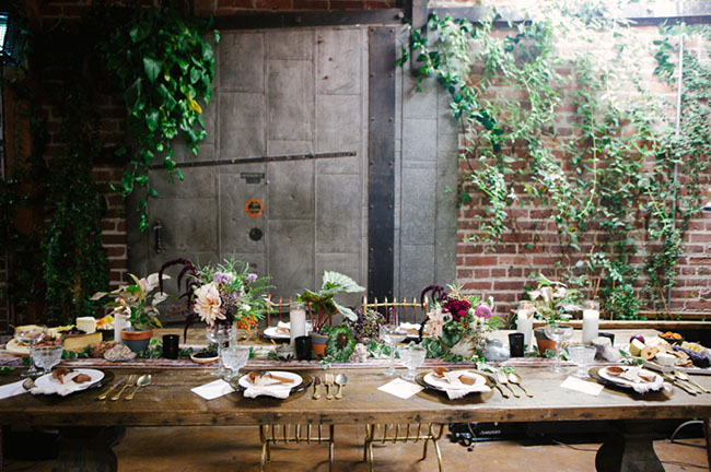 kinfolk tablescape inspiration