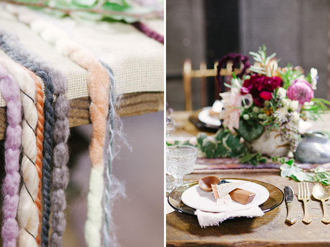 braided rope table runner
