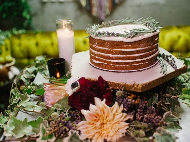 thin naked cake
