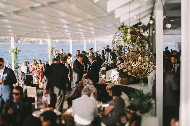 Australia boat wedding