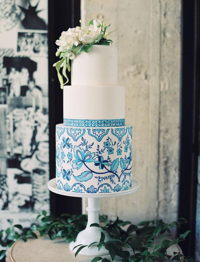 Delft Pottery Cake