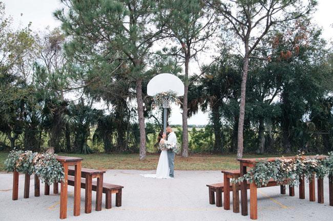 March Madness wedding inspiration