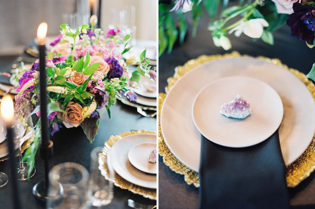 geode plate setting