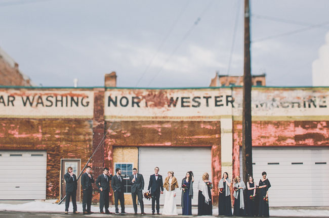 Snowy Montana Wedding