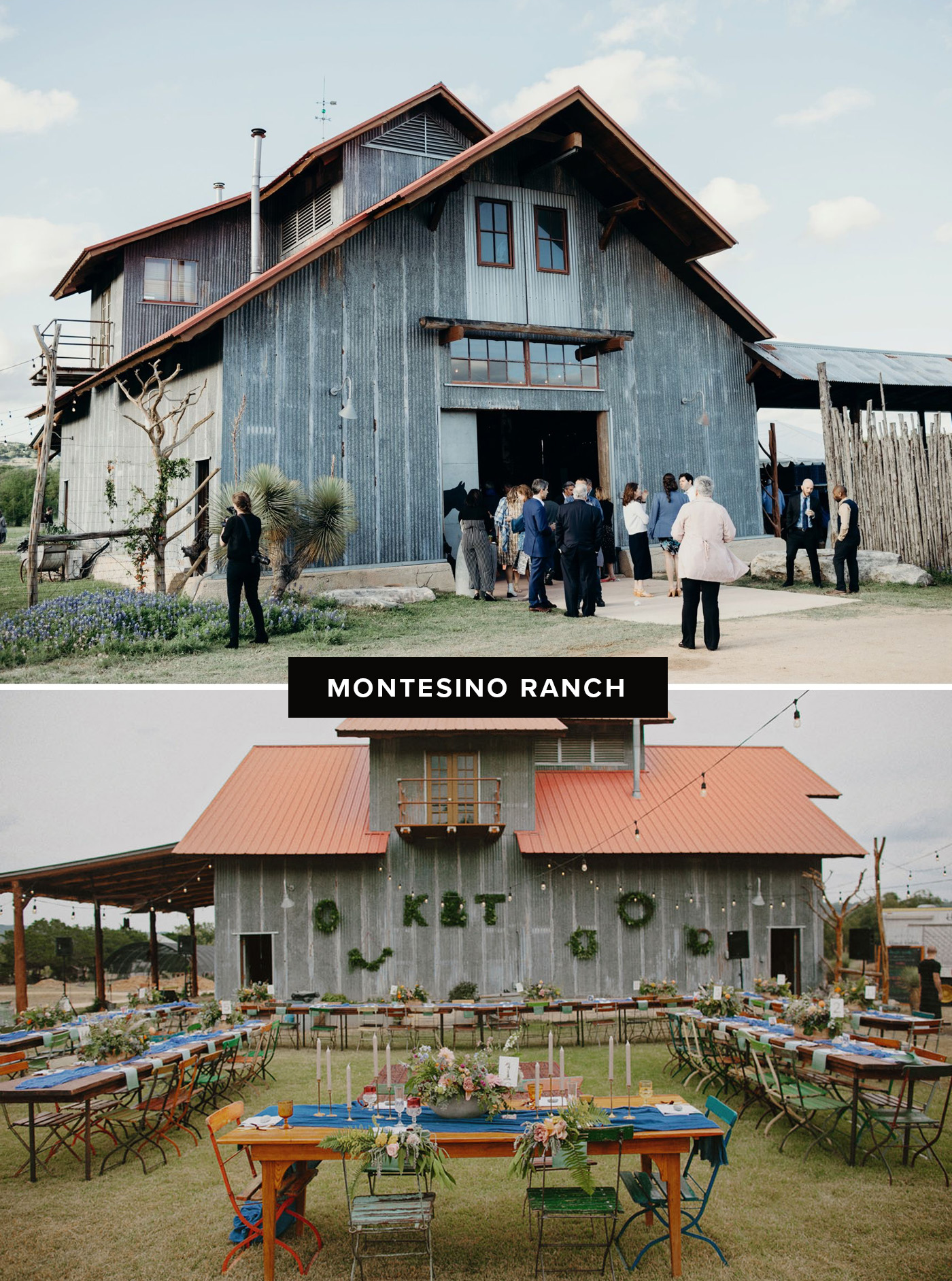 montesino ranch wedding venue