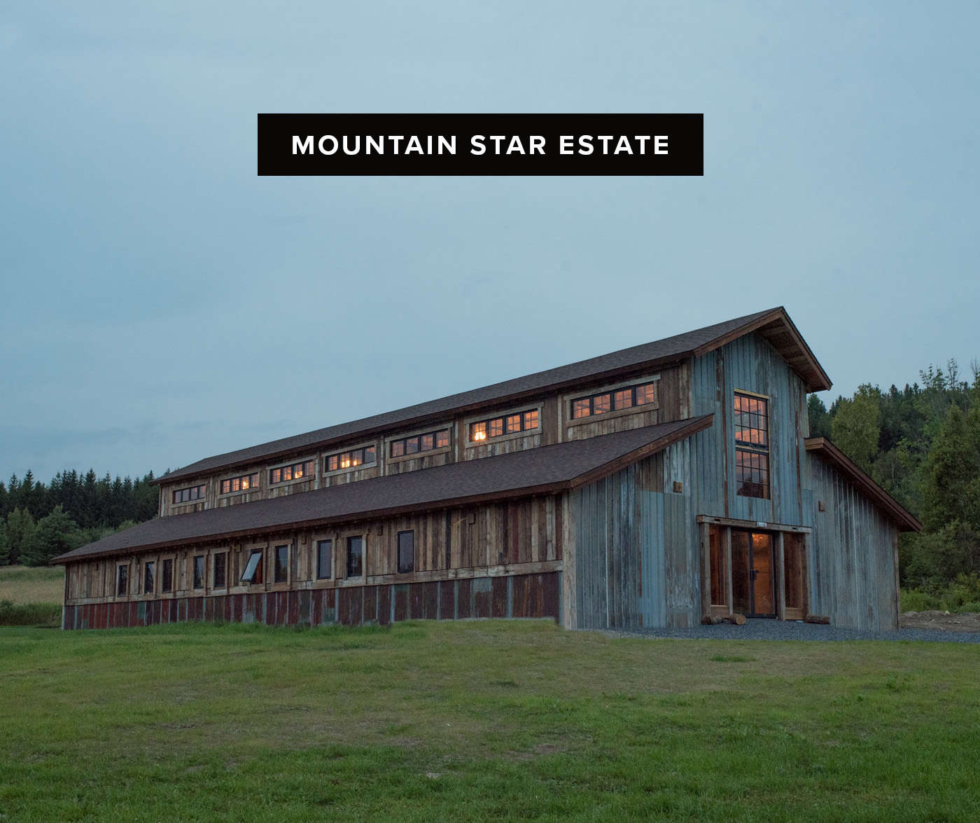 mountain star estate barn wedding