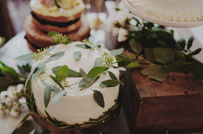 leaf cake toppers