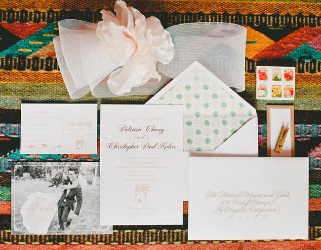 photo invitation set