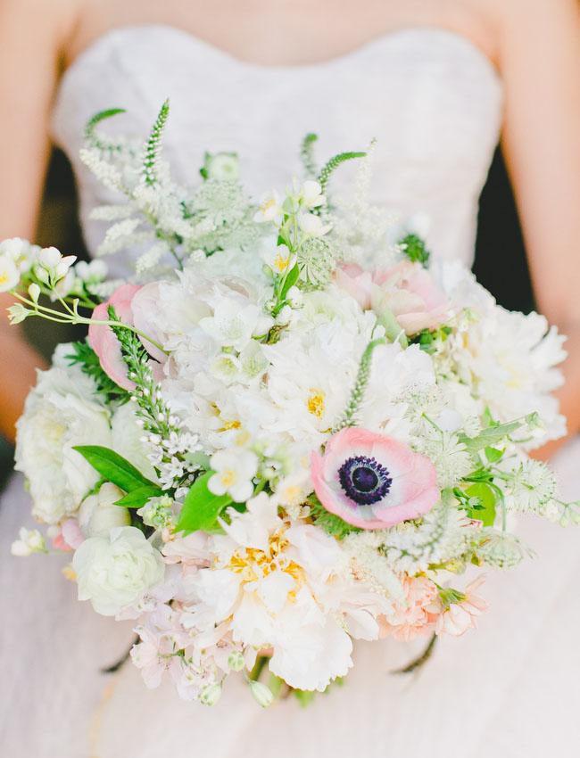 pink anemone bouquet