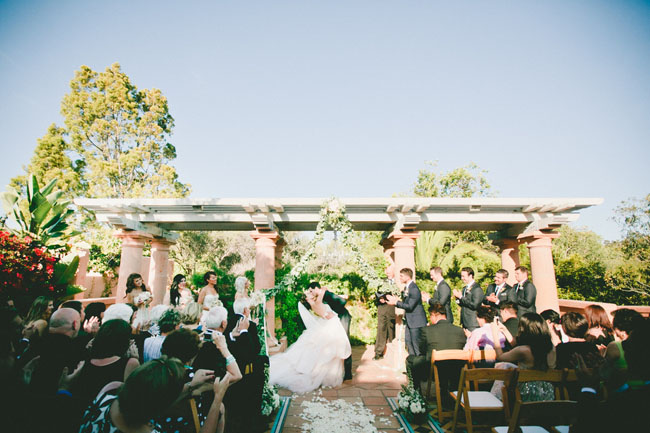 Rancho Valencia ceremony