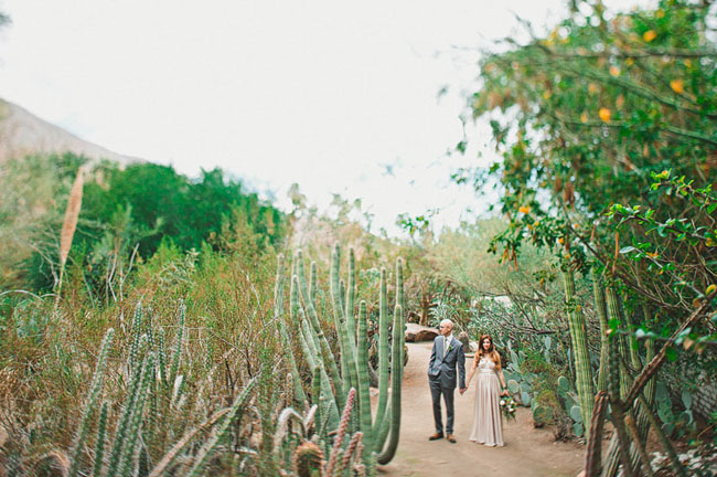 Palm Springs Sparrows Lodge Wedding: Carly + Josh