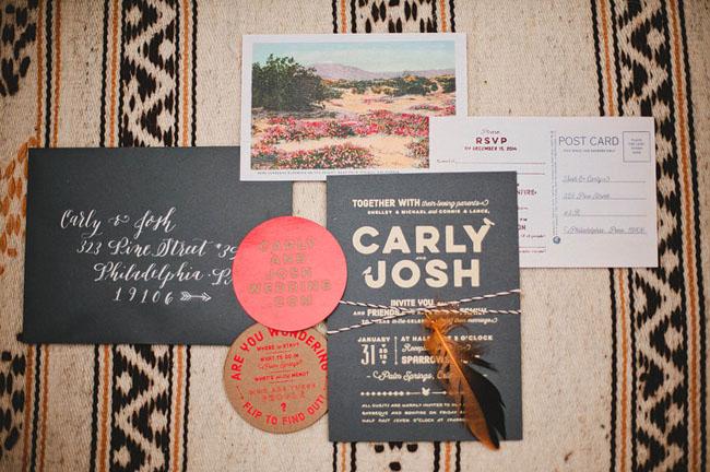Postcard invitation