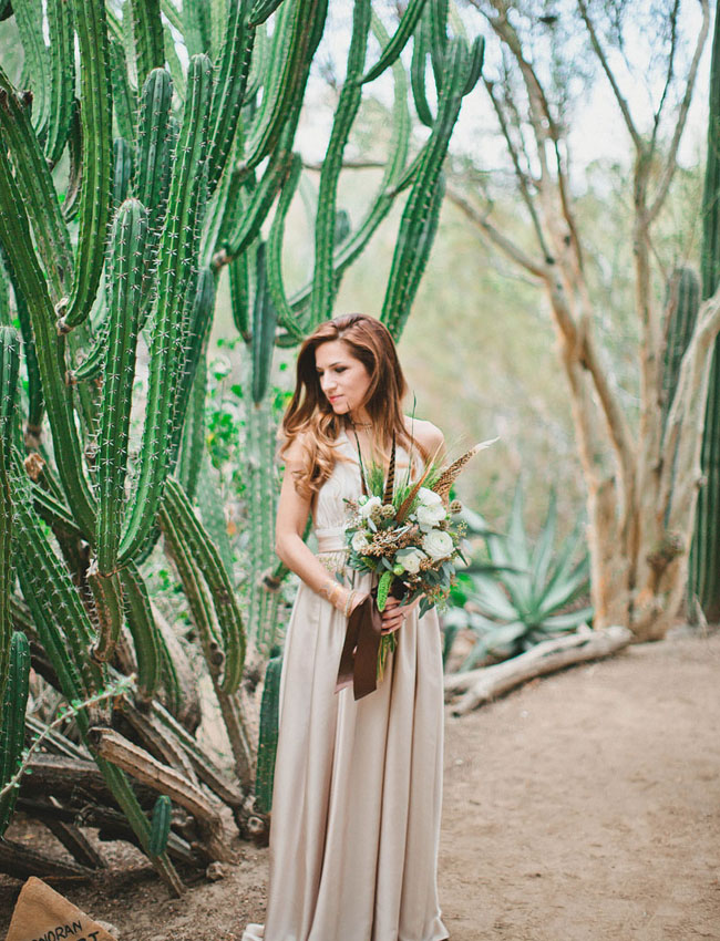 whimsical desert bouquet