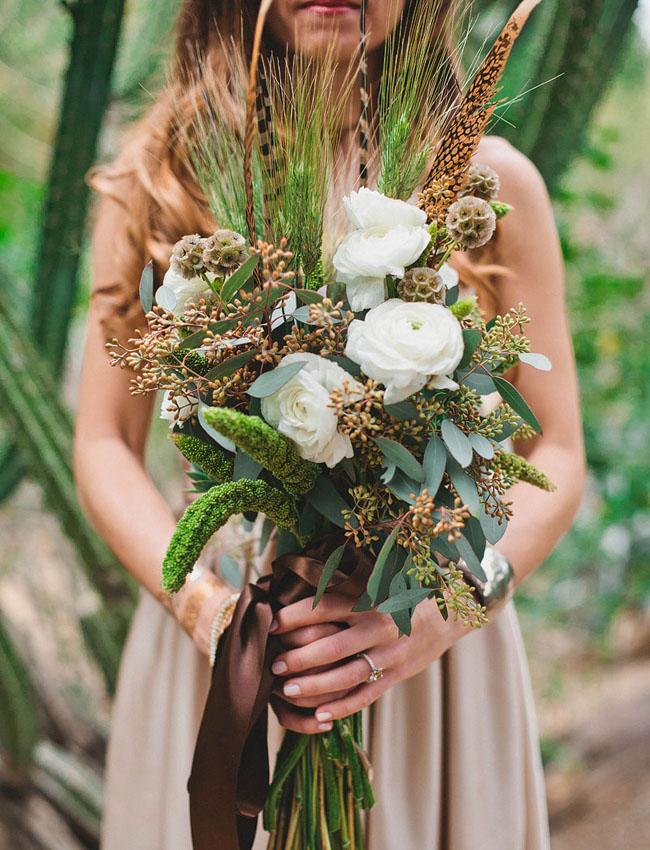 whimsical desert bouquet