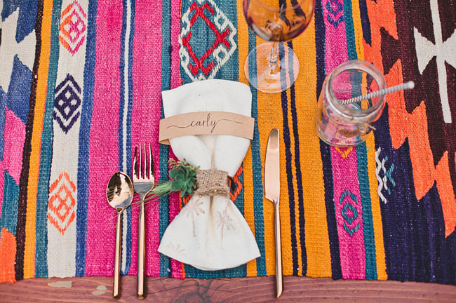 fiesta table runner
