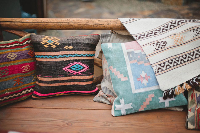 Aztec pillows