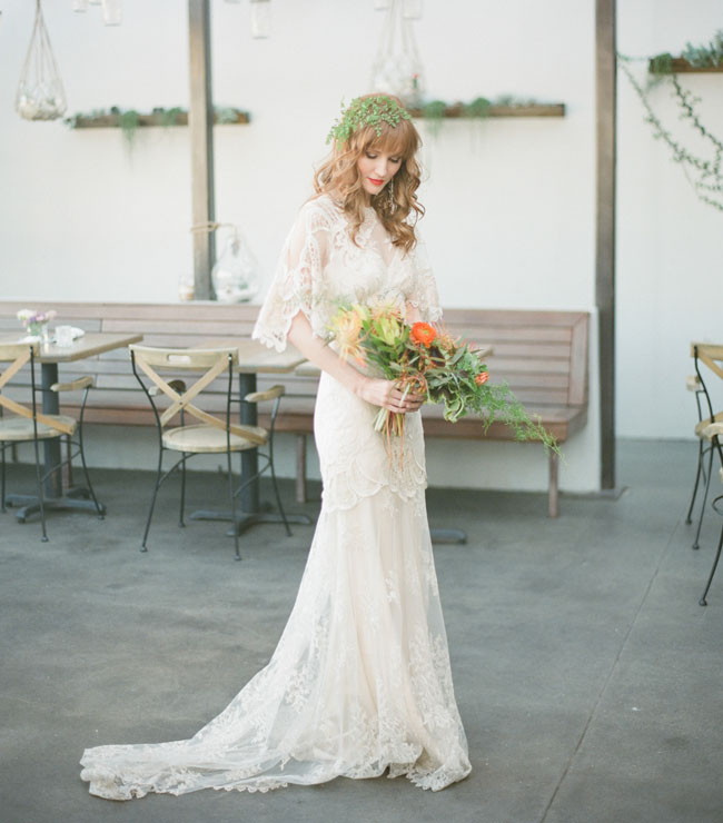 St. Patrick\'s Day Wedding Inspiration - Green Wedding Shoes