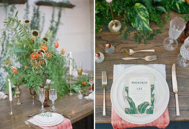 leafy green menu