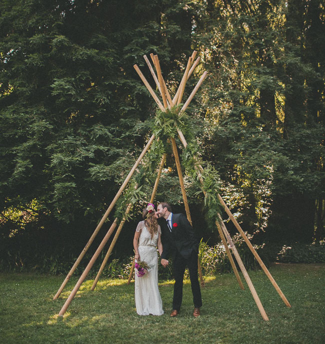 Summer Wedding Ideas Pinterest: Stylish Summer Solstice Wedding: Bri + Nate