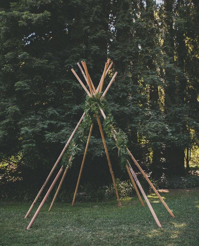 teepee ceremony