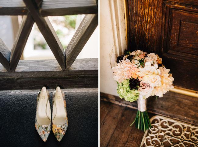 colorful print heels