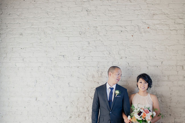 Modern + Minimal Atlanta Wedding: Yvonne + Young