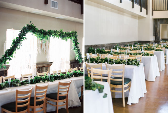 garland table runners