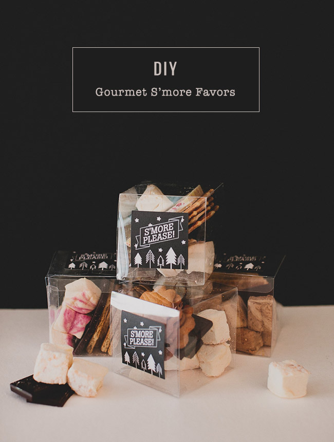 DIY Gourmet S'more Favors