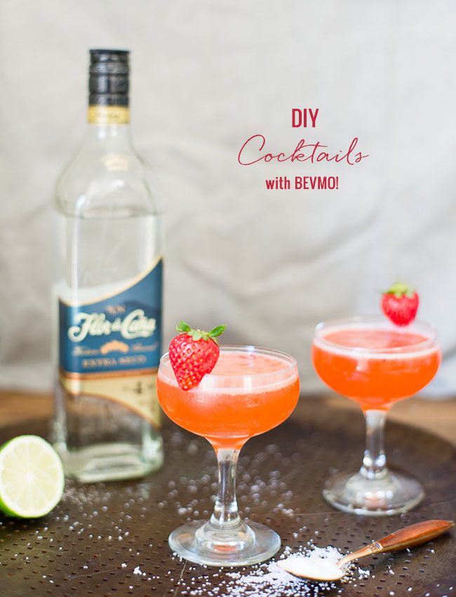 DIY Cocktails with BEVMO!