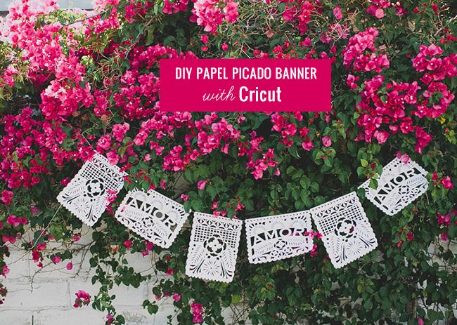 DIY Papel Picado Banner with Cricut + A Giveaway!
