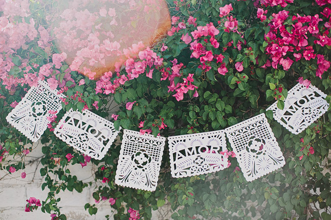 Diy Papel Picado Banner With Cricut Green Wedding Shoes