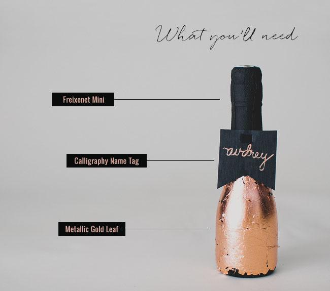 Freixenet Gold Leaf Bottle
